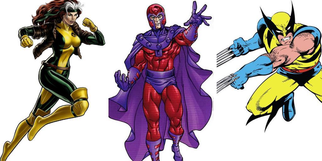 RT @missmayim: Rogue/Magneto/Wolverine  #3FavoriteMutants https://t.co/bNMgAx20le