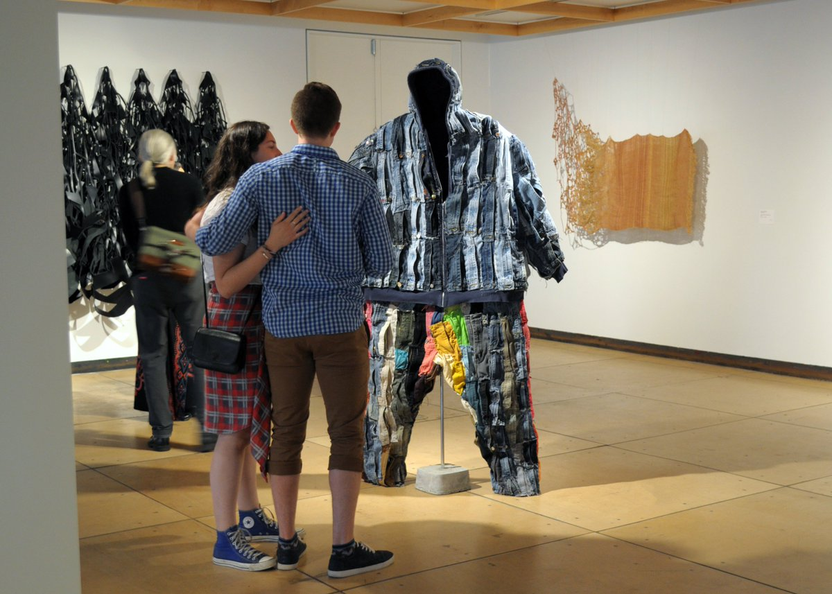 A photo recap of our Fiberart International 2019 #exhibition reception back in May! There was such a good energy in the galleries. We hope you will come and check out these inspiring artworks! On view until 8/24/2019. #art #textile #FI2019 @ItsFreeBurgh https://contemporarycraft.org/exhibition/fiberart-international-2019/…