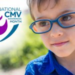 Image for the Tweet beginning: June is National Cytomegalovirus Awareness