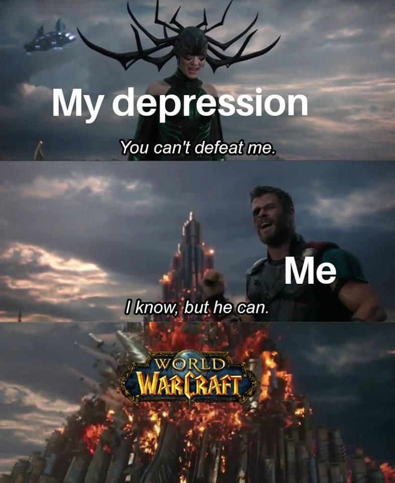 Warcraft Memes On Twitter Every Time Vynirl