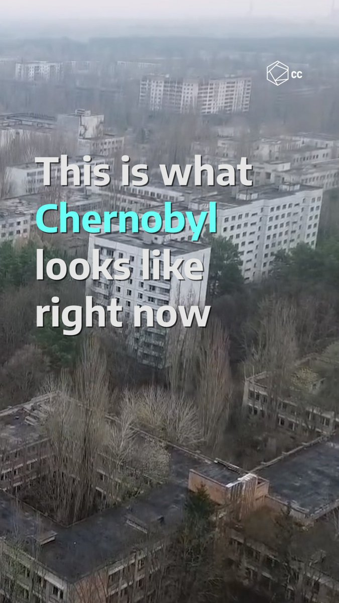 #Chernobyl is now a popular destination among tourists.