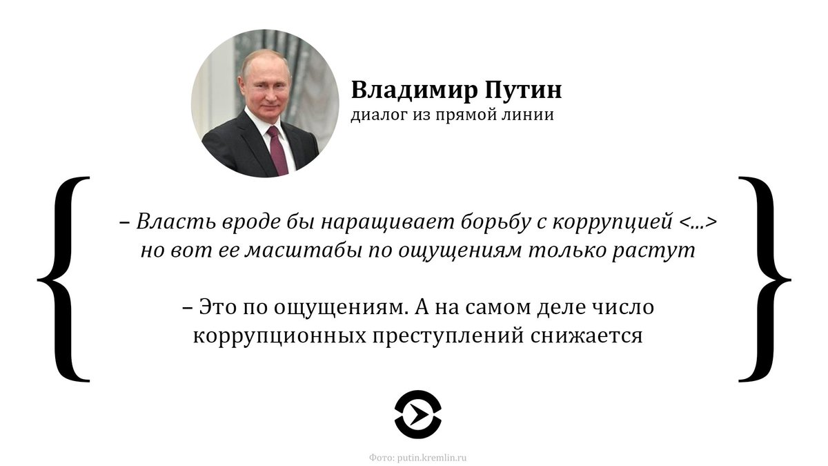 В России путинские коррупционеры обокрали народ