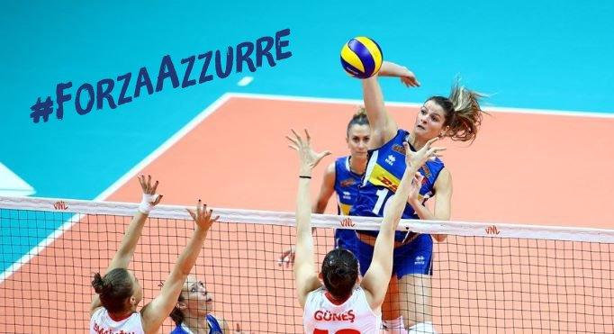 Continua l'avventura della nazionale femminile 🇮🇹 alla #NationsLeague di #Volley: : le azzurre possono ancora agguantare il primo posto.  Le ragazze di Davide Mazzanti tra poco in campo contro il #Belgio. SportPesa è con voi !  #Italia #ForzaAzzurre #SportPesaIt #MakeItCount