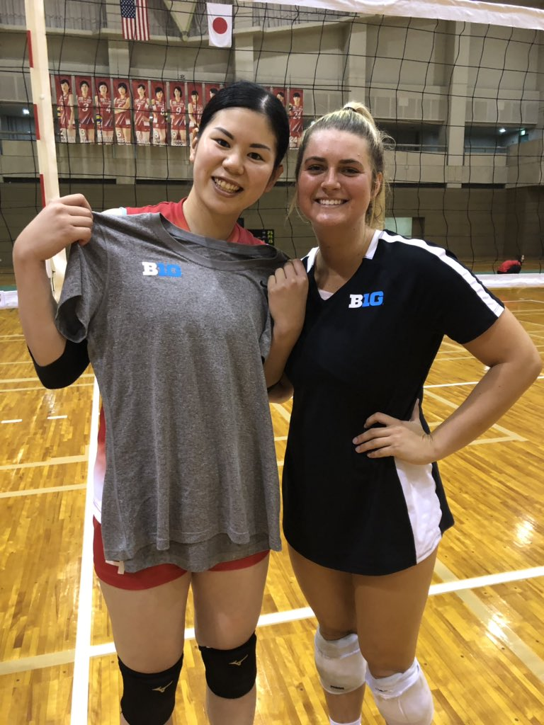 Update from Nishio City: @B1GVolleyball team got a win over the Denso Airybees 3-1 today!