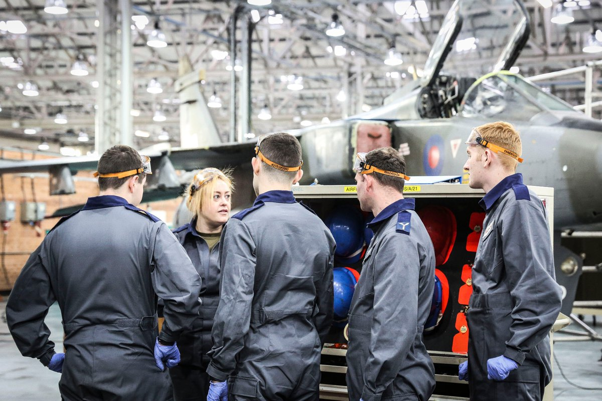 """Our last quote for @INWED1919 is from Cpl Vicki Osborn, a @royalairforce engineer @RAF_Cosford. Her advice to women thinking of a career in engineering is """"to go for it, the only thing stopping you from achieving great things is you, and you have the power to change that."""" #WES"""