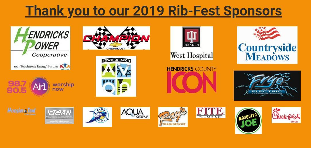 We want to thank all our 2019 Rib-Fest Sponsors. Without you this event would not be possible. Help us show our gratitude by shopping at these wonderful local businesses. https://t.co/sXqeNNUWkD