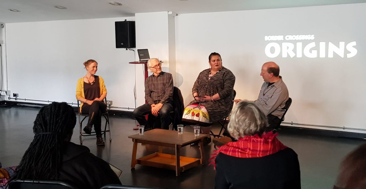 Some photos from Sunday's @BorderCrossings Origins Festival with our very own @josie360. A great conversation about #IndigenousActivism & #IndigenousCultures Thanks to all that came along to support! pic.twitter.com/zG2qqyPxYD