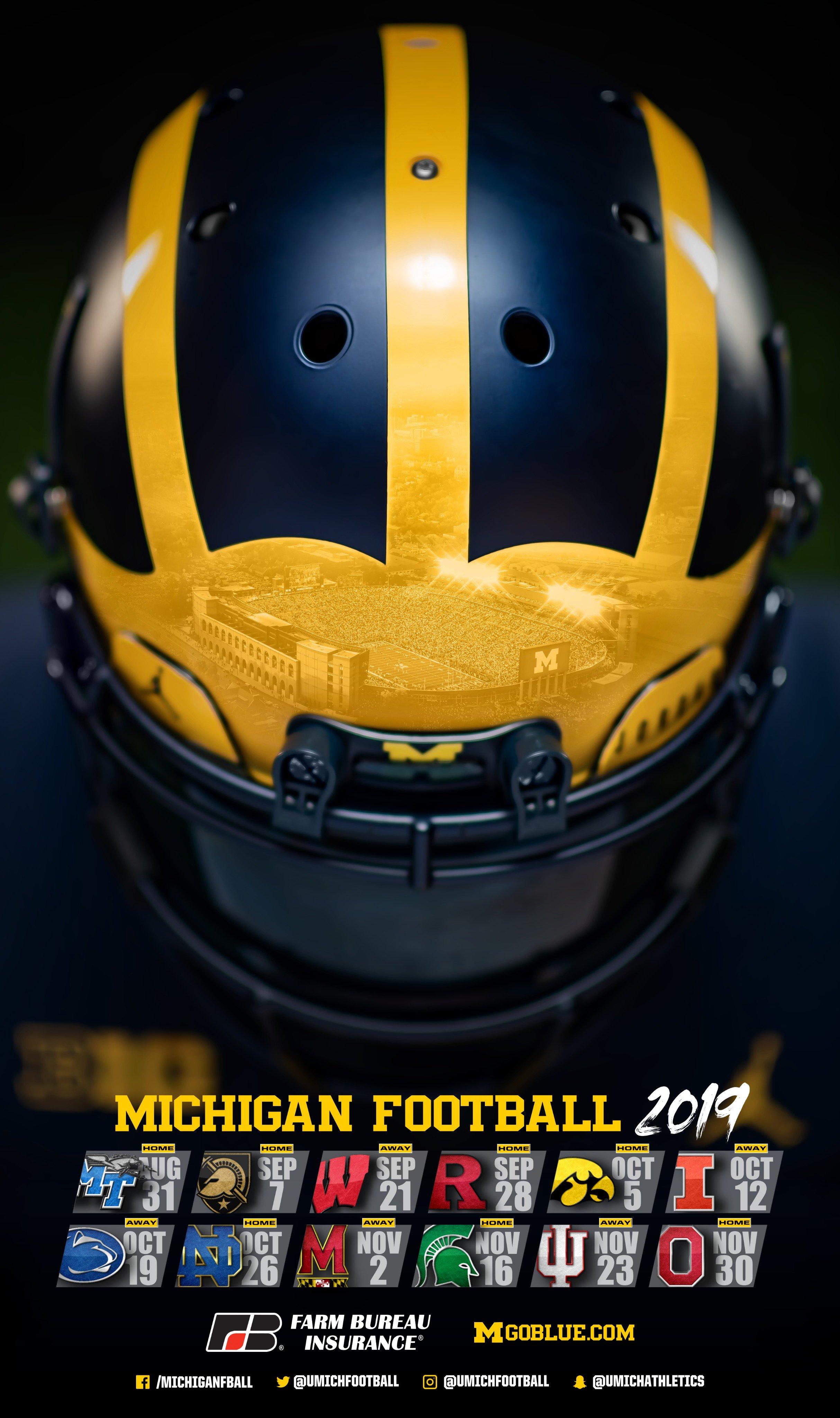 2019 Michigan Wolverines Football Schedule