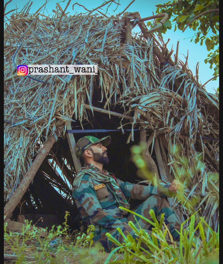 """""""If you are going to win any battle, you have to do one thing. You have to make the mind run the body. Never let the body tell the mind what to do… the body is never tired if the mind is not tired."""" PC @milind__mole_9512 #ARMY #ArmyHistory #armylove #Bravo #NationsLeague #CWC19"""