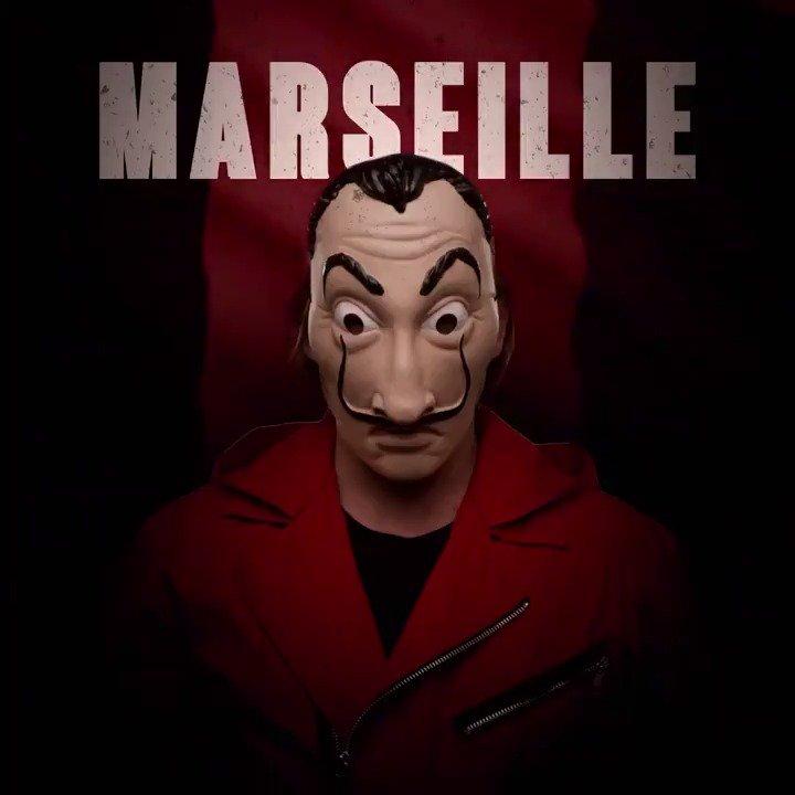 La Casa de Papel accueille un nouveau membre : Marseille.