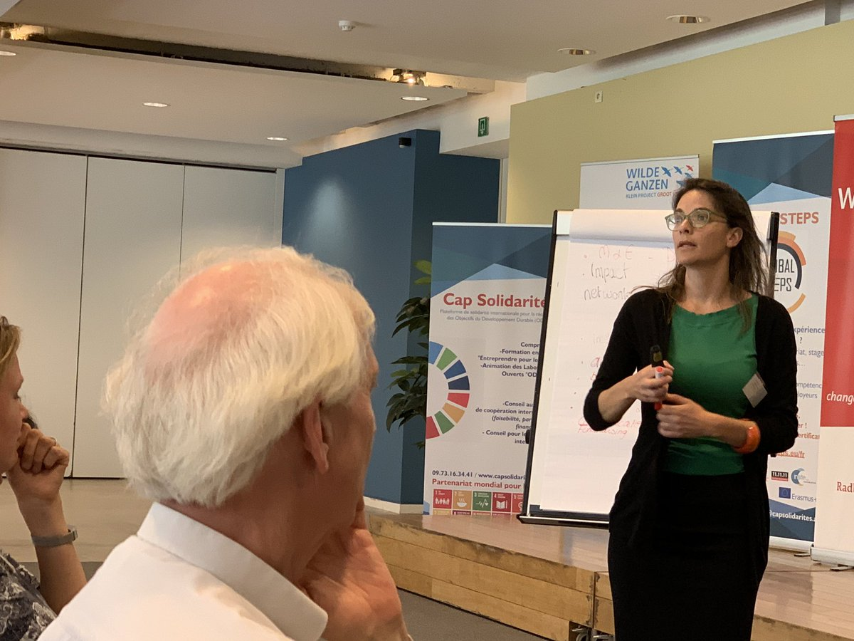 Discussions at #citizen initiatives conference-What are the conditions for being a relevant SDG player? Sara Kinsbergen warns against #SDG washing! The new #greenwashing ?