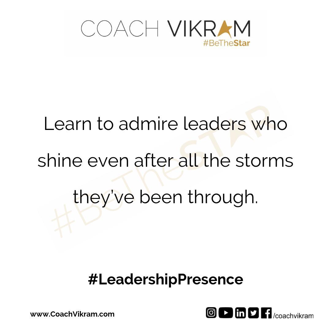 Coach Vikram on Twitter: