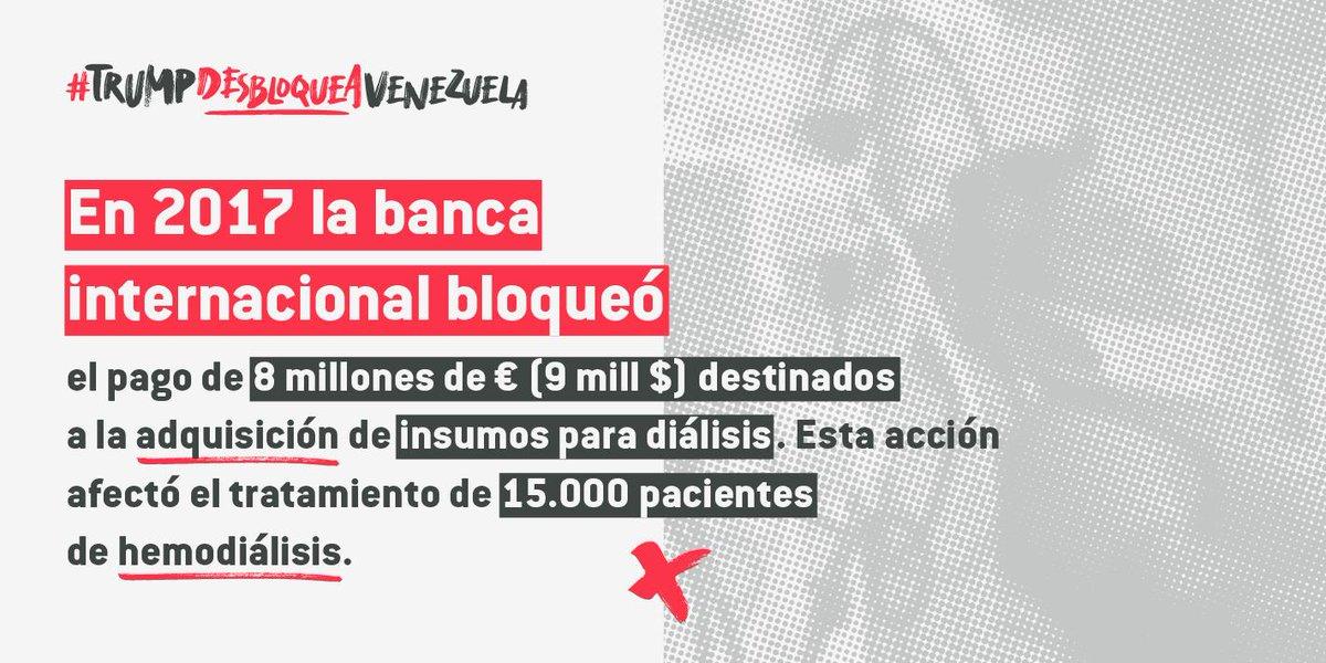 Datos que Michelle Bachelet debe tener en cuenta a la hora de analizar el tema Venezuela. #TrumpDesbloqueaVenezuela