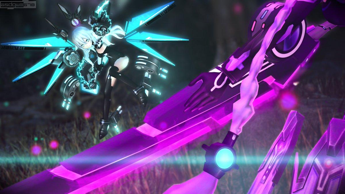 """""""Sparring"""" Ft. Black Heart Purple Heart #sfm #SourceFilmmaker #Neptunia"""