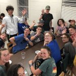 Image for the Tweet beginning: CLBC Students at Camp