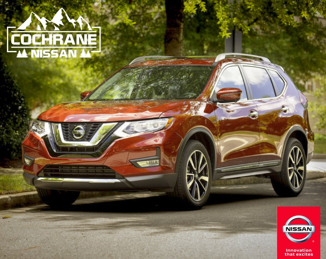 Take home your 2019 Nissan Rogue with up to $5,000 total standard rate finance cash on select models!! Come to Cochrane Nissan for service so good you'll tell your friends! https://bit.ly/2VXxeoK pic.twitter.com/aUqRrcqx7y