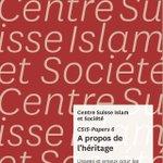 Le Centre Islam et Société de l'Université de Fribourg a publié un dossier (librement téléchargeable en ligne au format PDF) sur le droit islamique des successions et ses enjeux pour les musulmans en Suisse. https://t.co/FKAiN7bQLf #Islam #droit #Suisse