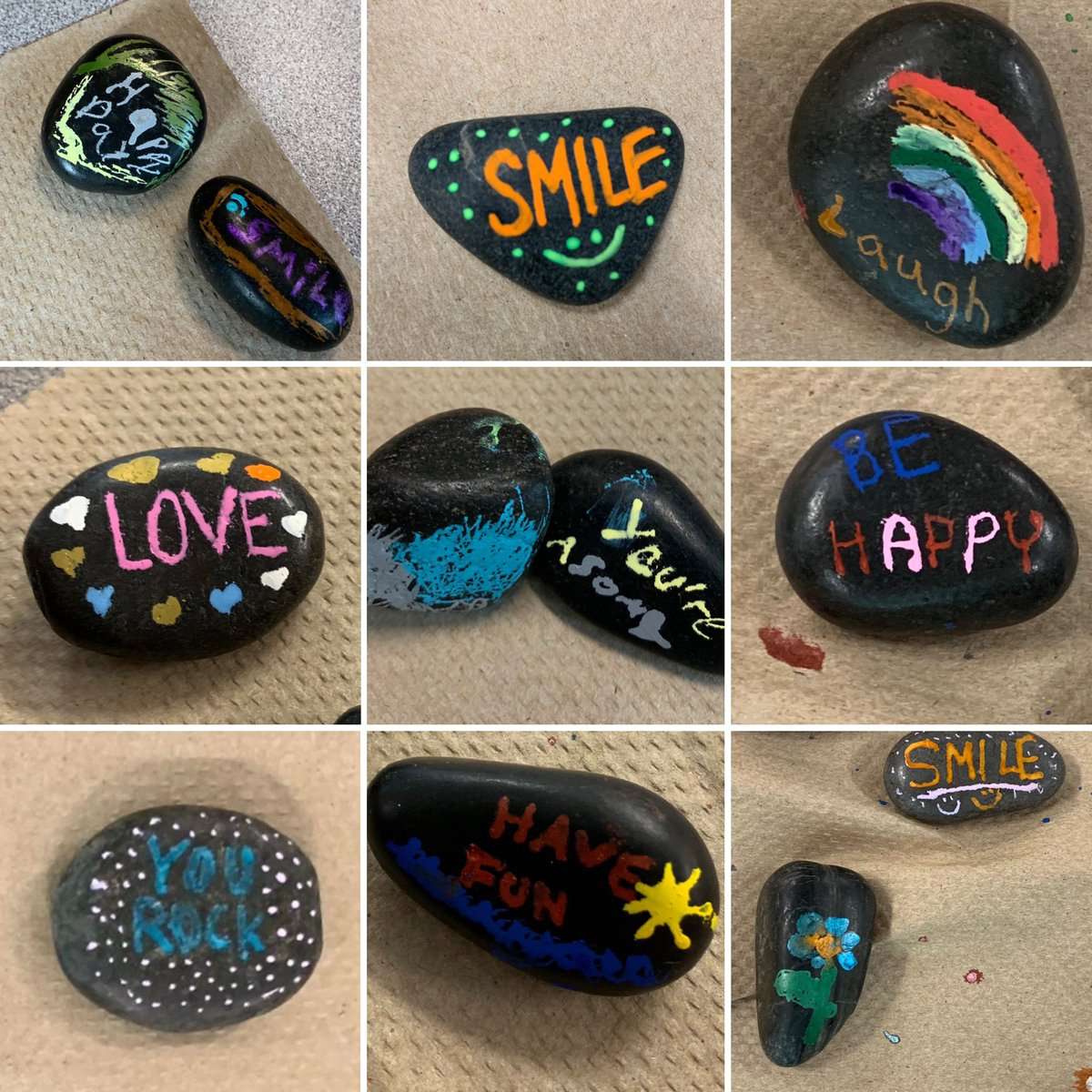 YOU ROCK! Students painted kindness rocks to hide around the <a target='_blank' href='http://twitter.com/AbingdonGIFT'>@AbingdonGIFT</a> campus for others to find (and keep)! Hope you have a great summer! <a target='_blank' href='http://search.twitter.com/search?q=ApsisAwesome'><a target='_blank' href='https://twitter.com/hashtag/ApsisAwesome?src=hash'>#ApsisAwesome</a></a> <a target='_blank' href='http://search.twitter.com/search?q=kindessmatters'><a target='_blank' href='https://twitter.com/hashtag/kindessmatters?src=hash'>#kindessmatters</a></a> <a target='_blank' href='http://search.twitter.com/search?q=readyforsummer'><a target='_blank' href='https://twitter.com/hashtag/readyforsummer?src=hash'>#readyforsummer</a></a> <a target='_blank' href='http://twitter.com/MsMuscarellaArt'>@MsMuscarellaArt</a> <a target='_blank' href='http://twitter.com/sb_cares'>@sb_cares</a> <a target='_blank' href='http://twitter.com/AbingdonCares'>@AbingdonCares</a> <a target='_blank' href='https://t.co/VFG4YjgmpL'>https://t.co/VFG4YjgmpL</a>