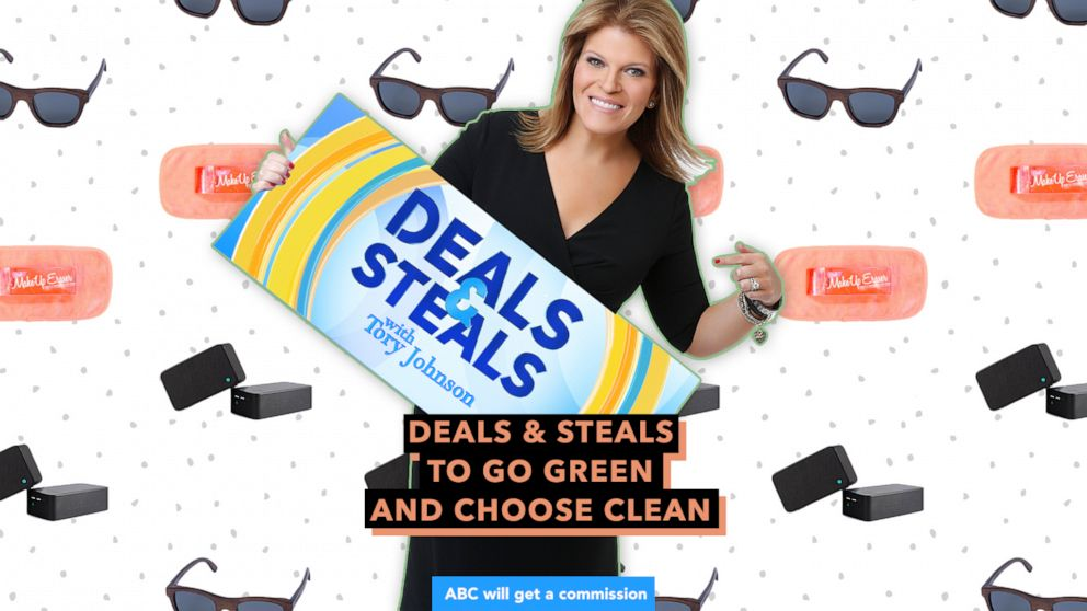 Shop @toryjohnson's #GMADeals to help you go green and choose clean here: https://t.co/PEXtJFyCv1 https://t.co/smjPAKfeQD