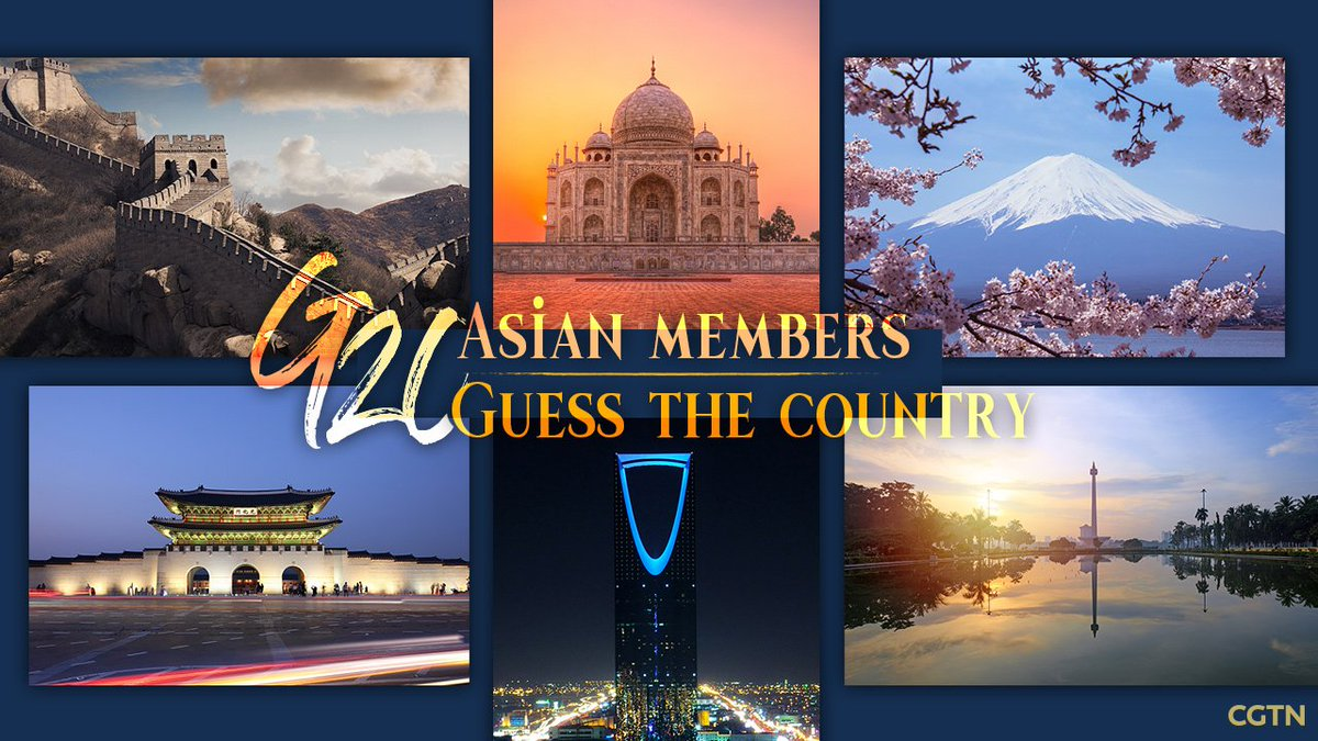 Among all G20 members, six Asian countries play a crucial role in advancing the global economy.As 2019 G20 Osaka summit draws near, CGTN is rolling out a series of quizzes to help you know more about these economies. Stay tuned to guess what they are.#G20Osaka #GuessWhatItIs