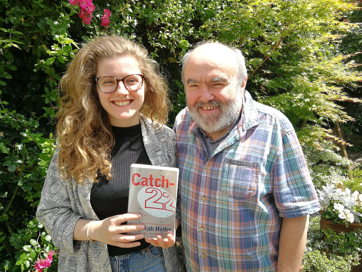 Tomorrows episode will be the last of Season 1. Were ending on a high, though, with two very special guests -- writer @Hamilbug and her father, the legendary Andy Hamilton -- discussing Catch 22! Subscribe 👇 Apple: trib.al/o1nhtnW Spotify: trib.al/HaVYf2u