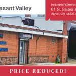 Image for the Tweet beginning: REDUCED PRICE on industrial warehouse