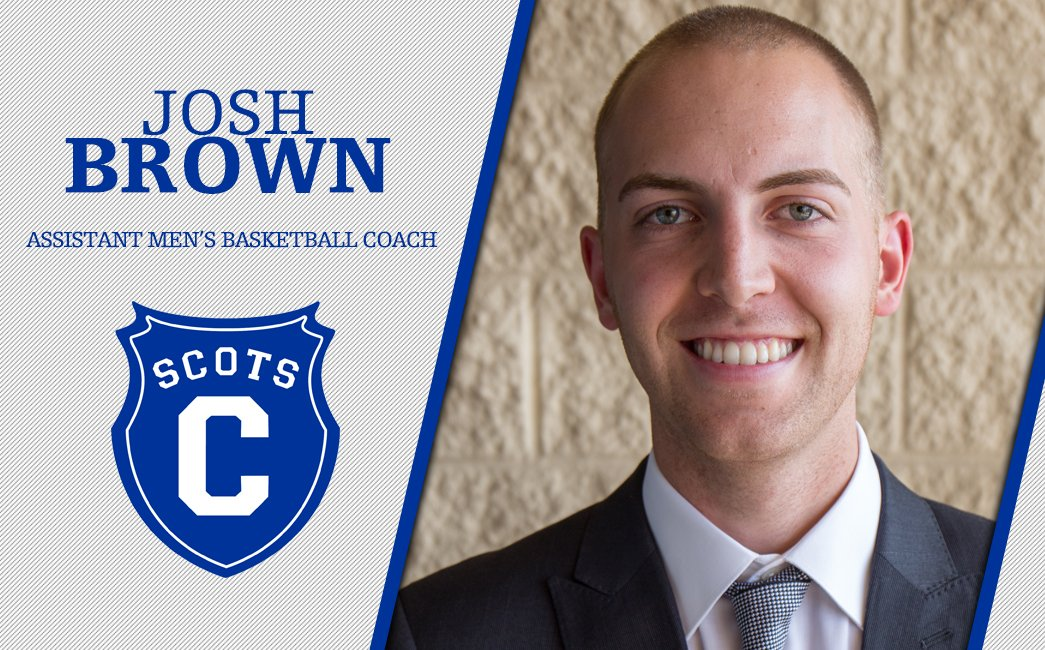 MBB: Josh Brown tabbed as @ScotsMBB assistant coach.  Story: https://athletics.covenant.edu/sports/mbkb/2018-19/releases/20190620dvg5os…  #WeAreTheScots #d3hoops