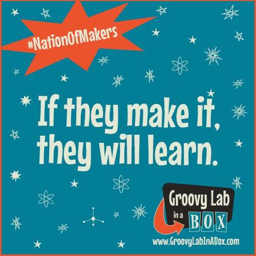 If they #make it, they will learn!   https://www.groovylabinabox.com/#STEMists #STEMist #NationOfMakers #Makers #MakerSpace #MakerEd #MakerMagic #BeAMaker #art #artsed #parenting #STEM #STEAM #STEMEd #STEMforKids #STEAMeducation #Makereducation #EngineeringDesignProcess #edtech #HomeschoolScience
