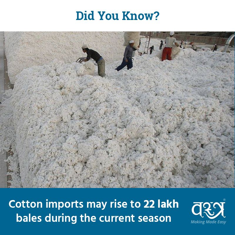 Did you know? by #VastraAap #textile #apparel #news #business #cotton