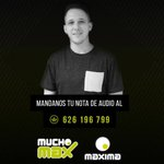 Image for the Tweet beginning: Comienza @mucho_max  con @RamsesLopezFM