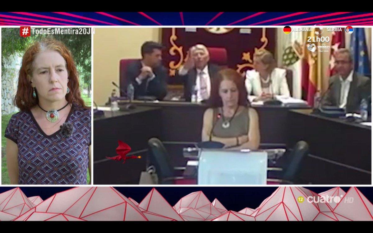 Hablamos con @CeliaMartell, concejala de @GalapagarPor, que fue abucheada al prometer su cargo el sábado pasado. #TodoEsMentira20JN mdia.st/directo4