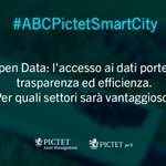 Image for the Tweet beginning: #ABCPictetSmartCity #SmartCity 📝 #OpenData: quali