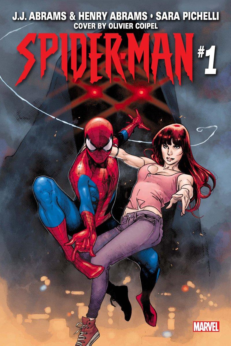 WTFFFFFFF A JJ ABRAMS #SpidsrMan book?!? Drawn by Sara Pichelli? You were right @CBCebulski I wasn't expecting this. Lets. F*cking. Gooooooooooo... #SpiderMan