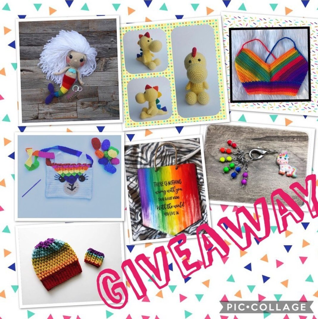 There's an awesome Pride month giveaway happening on Instagram right now. Check out https://instagram.com/larzipan_creations?igshid=ieeuakxz9njt… and go to the original post and follow some rules to enter 🥰🌈 My contribution is the rainbow dinosaur 🥰 #giveaway #instagram #Pride #Pride2019 #freestuff #ContestAlert