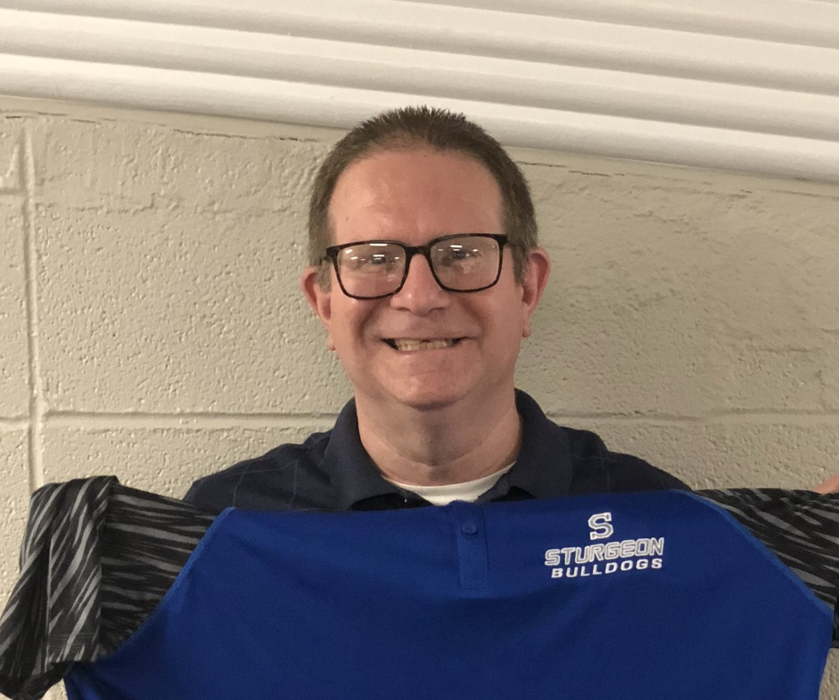 Welcome aboard Mr. Fischer @SturgeonHS is excited for th 19-20 school year! #BLUEPRIDE <br>http://pic.twitter.com/c7idNMJMPA