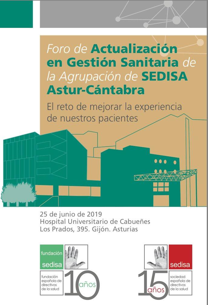 #Foro @SEDISA_NET en #Asturias #Gijón #ExperienciadePaciente ponentes de lujo!  Inscripción gratuita http://www.sedisa.net  #SEDISACabueñes