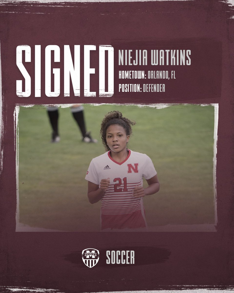 Welcome to the family @niejiawatkins! Niejia joins us from Nebraska where she played in 15 games last year. In high school, she earned Defensive MVP honors as a freshman, sophomore and senior!  #HailState🐶