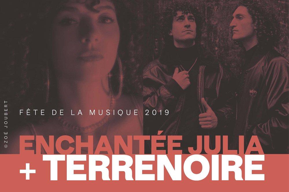 Divendres 21 de juny al @centredelcarme #CCCC #València celebrem la Fête de la Musique de França amb el @IFValencia on gaudirem dels concerts de @EnchanteeJ (R&B-soul) i @TerrenoireLaVie (synthpop) 🕒 20:15h ✅ Entrada gratuïta ➡️ + info: http://www.consorcimuseus.gva.es/actividades/fete-de-la-musique-enchantee-julia-terrenoire/… @GVAculturesport