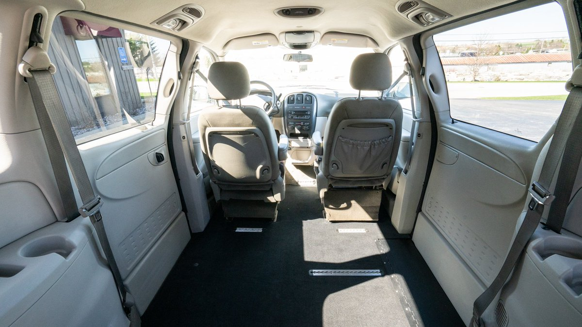This #2007 #Dodge #GrandCaravan with has an in-floor #ramp that can support up to 800 lbs and has a roomy interior. For more information visit http://ow.ly/USaw50uJ73O  #wheelchair van #accessibility #mobility #van