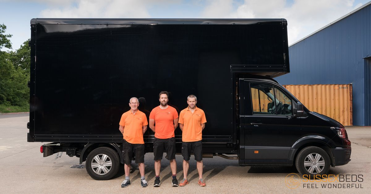 We recently took #delivery of 3 #shiny new bespoke Luton vans.   They are currently being sorted with some exciting graphics-so I am sure you will see them out and about in the area.  Read more about our delivery service: https://buff.ly/2Zk1Rmm   #van #promotion  #bespoke #team