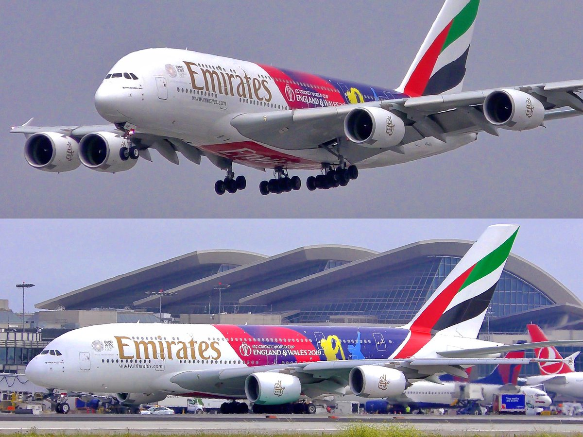 [4K VIDEO] #EMIRATES #AIRBUS #A380-861 #LAX ARRIVAL & DEPARTURE -  📺 YOUTUBE LINK  ➡️ https://youtu.be/OswWMwtA7jA ⬅️ via @YouTube #planespotting #planespotter #avgeek #aviation #aviationdaily #aviationlovers #airplanes #airliners #airlines @emirates @Airbus @flyLAXairport