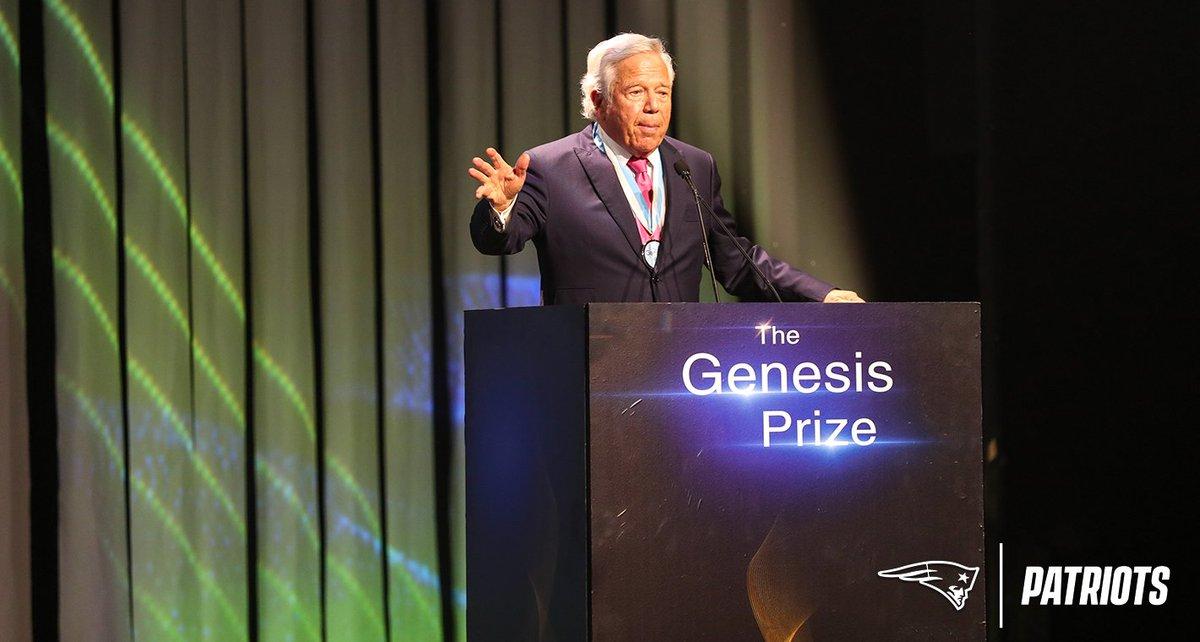 "Robert Kraft pledges $20 million to establish new foundation ""to galvanize the global fight against anti-Semitism"": http://bit.ly/2WTGwys"