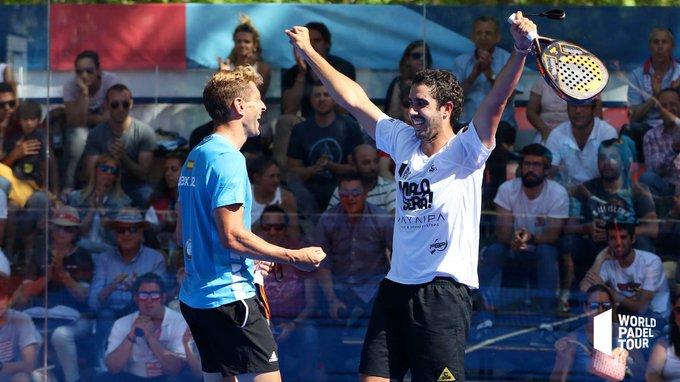 Alex Ruíz y Martín Sánchez Piñeiro han conseguido llegar a cuartos del Valladolid Master