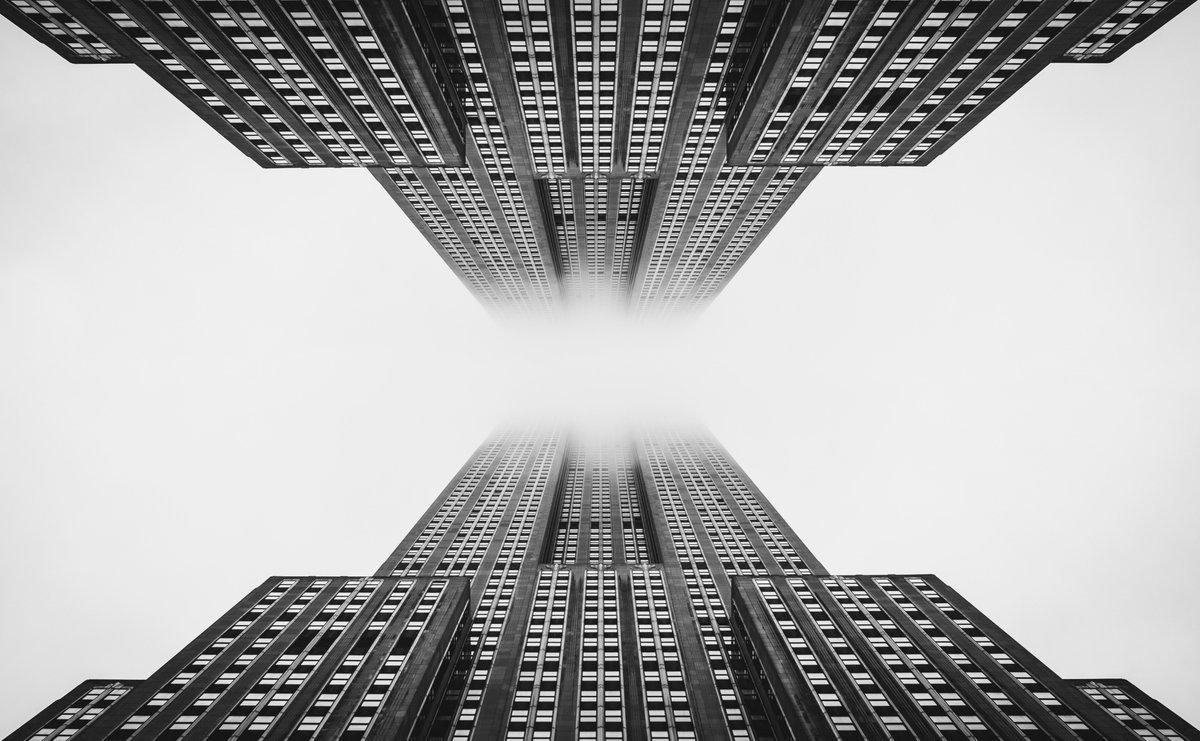 New Foggy City  #NYC #photography #travel #architecture #architecturephotography #NewYork https://t.co/h3ONGk226P
