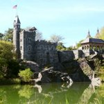 Image for the Tweet beginning: Central Park's Belvedere Castle is