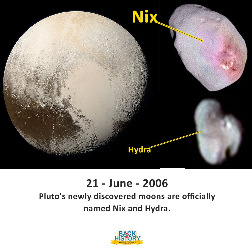 pluto's moons nix and hydra - 1000×1000
