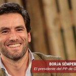 Image for the Tweet beginning: Esta noche Borja Sémper (@bsemper)