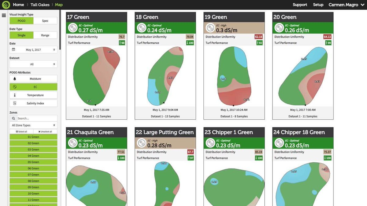 Thanks for sharing! You can see the same analysis instantly through the app with no need to go to the website. The new TurfPro Mobile app allows for all features on the fly. Reach out to info@pogoturfpro.com anytime for more info!