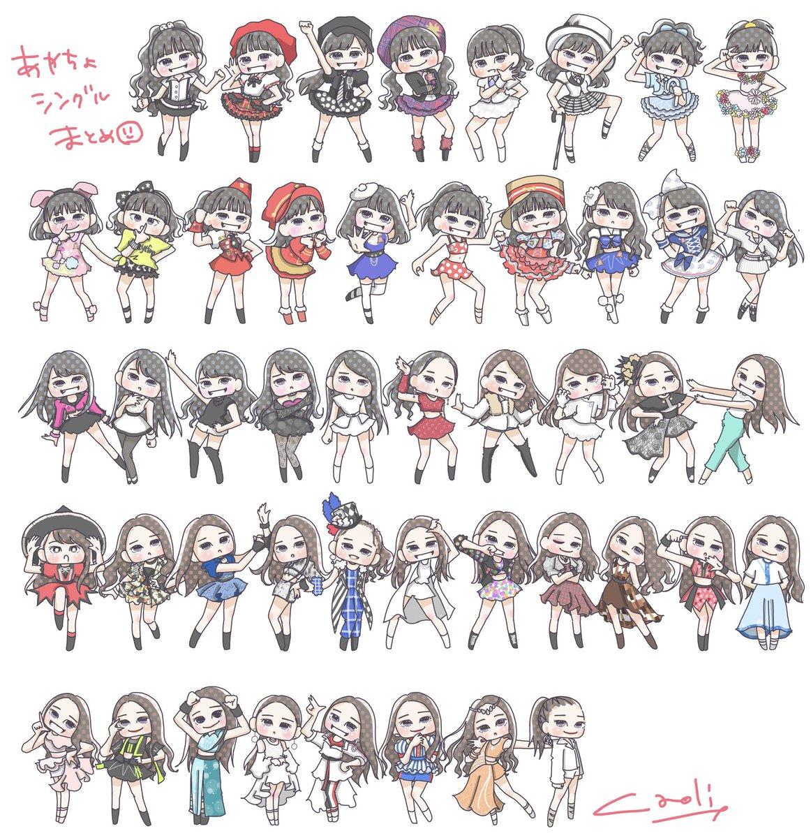 アンジュルム和田彩花ちゃん卒業記念この他にも沢山描きました。絶対悔いが残らないように!まだもう少しあるから早く描き終わって本にしたいと思っています。なにはともあれ!あやちょ卒業おめでとう!