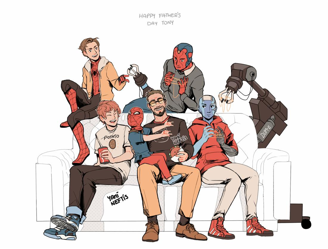 Happy Father's day Tony!, we love you 3000
